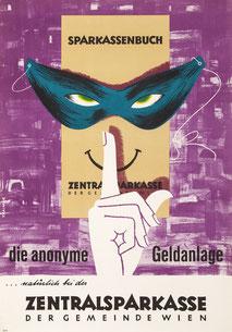 Plakat - Bankgeheimnis.