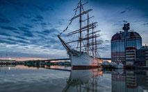 Hamnen i Göteborg