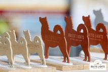 Die offiziellen Husky-Pokale für die Teilnehmer © ExperiArts Entertainment - Stefan Stuhr