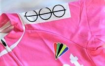 Schulterklappe stilisiertes logo der Marke r-f-l gut sichtbar!