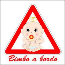 Grafica personalizzata per stampa mini maglietta bimbi a bordo da appendere in automobile