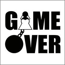 Game over - Grafica per maglietta personalizzata addio celibato