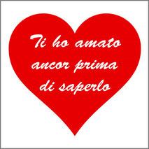 Grafica personalizzata per stampa maglietta tema amore