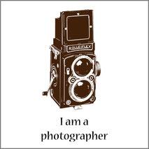 Amo la fotografia, grafica per stampa maglietta personalizzata