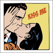 Maglietta personalizzata con stampa Kiss Me