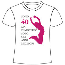 Esempio di grafica applicata a maglietta stampabile