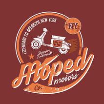 Stampa maglietta personalizzata Vespa old Style