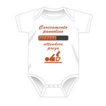 Esempio di inserimento grafica da stampare su body per neonati