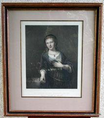Franz Hanfstaengl,Lithographi 1840 Tochter von Rebrandt van Ryn, € 490,00