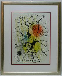 """Juan Miró, """"La Chasseresse"""", Die Jägerin, 1965, Kunstdruck, , € 280,00"""