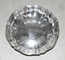 Silberschale, barocke Form, 835er, Bruckmann & Söhne, 379,0 g., € 380,00