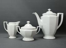 Rosenthal Porzellan,3-Teiliges Kaffeeset, Maria Weiss,Milch,Zucker,Kaffeekanne , € 110,00