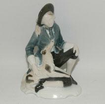 """Rosenthal, Figur """"Schäfer mit Hund"""", Karl Himmelstoss, 15,0 cm, € 120,00"""