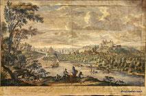Handcolorierter Kupferstich, 1726, € 500,00