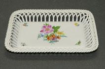Herend Hvngary,Korb Tablett, Porzellan,Bouquet de Sax, 7390/BS, 19,5 cm, € 69,00