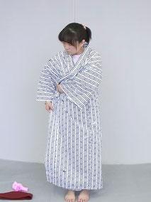 旅館浴衣の着方3