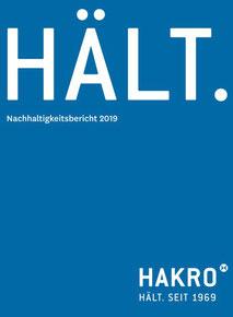 HAKRO Nachhaltigkeitsbericht
