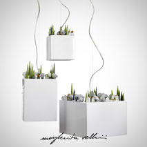 Hanging lamps COLLINE Margherita Vellini Ceramics Made in Italy Home Lighting Design