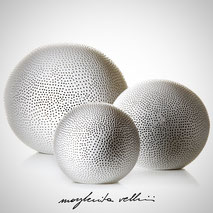 Sphere lamps BUCHINI  Margherita Vellini Ceramics Made in Italy Home Lighting Design