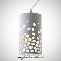 Hanging lamps BLOB Margherita Vellini Ceramics Made in Italy Home Lighting Design