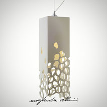 Hanging lamps BLOB Margherita Vellini Ceramics Made in Italy Home Lighting Design