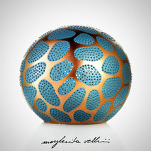 Sphere lamp CELLULE Margherita Vellini Ceramics Made in Italy Home Lighting Design