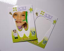 магнитные рамочки для фото с логотипом