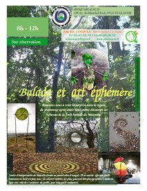 balade initiation land art