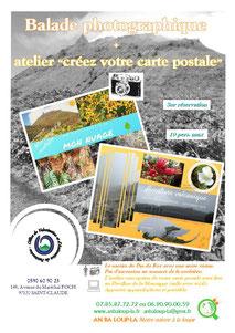 Balade photographique et atelier carte postale