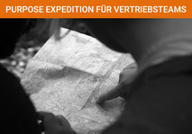 Purpose Expedition für Teams im Vertrieb