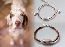 joyas-artisticas-con-pelo-animal-mi-miga-pulseras-madre-hija-cuero-plata-ley-perlas-cristal-charms-corazon-huella-perro-miga