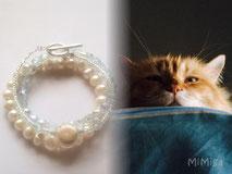 joya-artistica-con-pelo-animal-mi-miga-novia-boda-pulsera-perlas-agua-dulce-cristal-facetado-gato-nyc