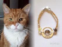 joya-artistica-recuerdo-con-pelo-animal-mi-miga-pulsera-swarovski-plata-ley-aro-grabado-engaste-cabuchon-cristal-gato-rubi