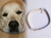 joya-artistica-con-pelo-animal-mi-miga-pulsera-cuero-plata-ley-charm-inicial-perro-athos