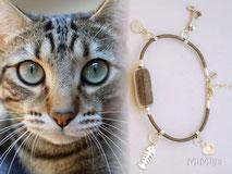 jewel-mi-miga-artisan-bracelet-personalized-leather-silver-charms-swarovski-element-glass-pearl-animal-hair-cat-lily