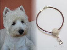 joya-artistica-con-pelo-animal-mi-miga-pulsera-cuero-plata-ley-charm-hueso-perla-pelo-perro-otto