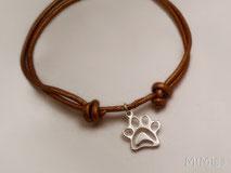 pulsera-catlover-doglover-cuero-huella-plata-ley-diseño-mi-miga