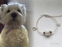 joya-artistica-con-pelo-animal-mi-miga-pulsera-recuerdo-cuero-plata-ley-adornos-cristal-perla-perro-tiza