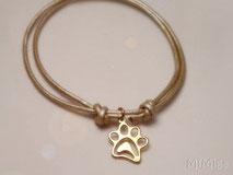 pulsera-catlover-doglover-cuero-huella-plata-ley-chapada-oro-diseño-mi-miga