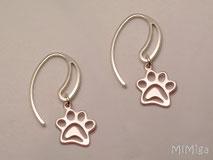 pendientes-catlover-doglover-huellas-plata-ley-diseño-mi-miga