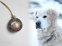 artistic-jewel-mi-miga-memory-necklace-steel-washer-engraved-sterling-silver-  charm-paw-print-glass-pearl-pet-animal-hair-dog-ugutz