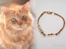 joya-artistica-memoria-recuerdo-con-pelo-animal-mi-miga-pulsera-oro-plata-ley-rayo-perla-cristal-gato-flash