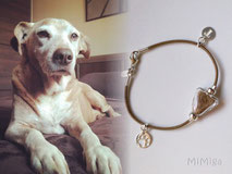 artistic-pet-hair-jewellery-mi-miga-pet-loss-memorial-bracelet-leather-sterling-silver-charms-initial-paw-print-glass-pearl-dog-totti