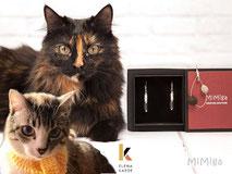 joya-artistica-con-pelo-animal-mi-miga-pendientes-plata-ley-perlas-cristal-gatos-la-kaede-leia