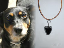 artistic-jewellery-mi-miga-memorial-necklace-leather-sterling-silver-glass-pearl-animal-hair-dog-lua