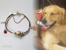 artistic-pet-hair-jewellery-mi-miga-pet-loss-memorial-bracelet-leather-sterling-silver-charms-initial-paw-print-swarovski-heart-glass-pearl-dog-rayo