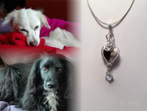 artistic-jewel-mi-miga-necklace-leather-sterling-silver-initial-letters-swarovski-star-crystal-pearl-pet-animal-hair-dogs-chica-tizon
