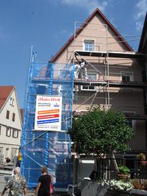 Fassadenstriche und Gerüstbau durch Maler Weik