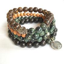 Balance + Stability Men's Mala Bracelet