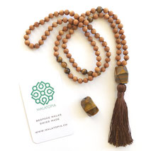 Courage + Protection Mala